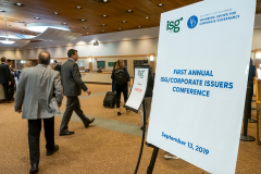 CCG - ISG/Corporate Issuers Conference - Sept., 2019 - SP